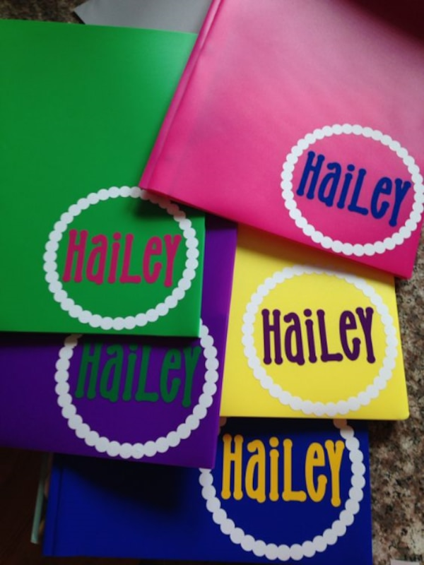 personalized school supplies