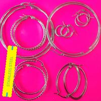 three round silver-colored rings Waltham, 02453