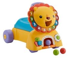 Fisher-Price 3-in-1 Sit, Stride & Ride Lion Toy Vehicle