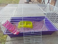 Rabbit cage with bedding and food and water contan Huntsville, 35805