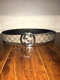 100% authentic beige GG Supreme Gucci belt size: 30-38 Toronto, M4C 5L4