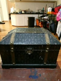 black and gray wooden chest box Panama City, 32405