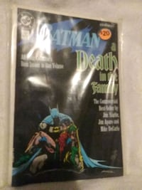 DC Batman A Death in the Family Baltimore, 21206