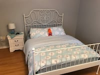 Bed Frame and a mattress for sale!  Vaughan, L4J 8M9