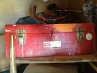 red and black metal tool box Victoria, V8W 2G5