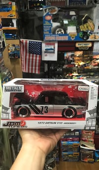 red and black die-cast car toy Whittier, 90602
