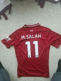 Official LIVERPOOL JERSEY WITH MO SALAH ON BACK Falls Church, 22041