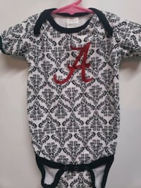 Roll Tide Onesies Sizes 3/6m & 6-12m