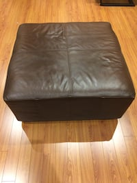 black leather ottoman with storage Vaughan, L4H 2A9
