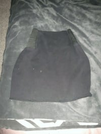 black and gray mini skirt Victoria, V9C