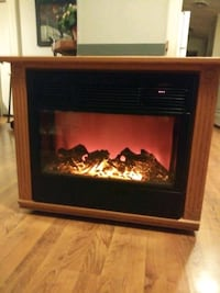 Movable Electric fireplace heater