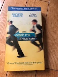 Catch Me If You Can VHS