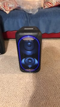 Black and blue portable speaker Vienna, 22180