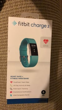 Fitbit Charge 2 fitness wristband box Silver Spring, 20910