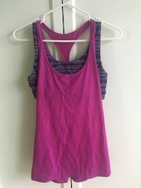 Purple Lululemon Workout Tank Toronto, M8Z