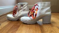 White 2 in Booties with Hot Fire Laces Bowie, 20716