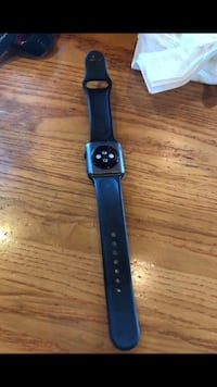 Black apple watch with black sports band Bakersfield, 93312