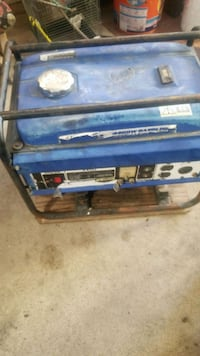 blue and black portable generator Anaheim, 92804