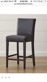 Crate and Barrel Bar Stool chair (Pottery Barn , CB2, Restoration Hardware, West Elm, ikea) moving Rockville, 20814