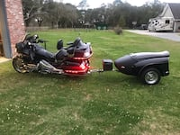 2008 Honda Goldwing with trailer