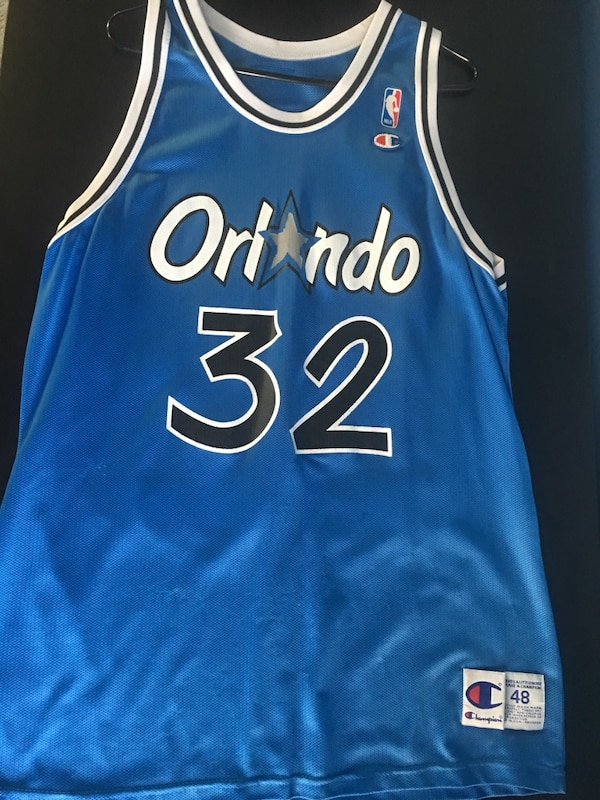 Used Vintage Champion Shaquille O Neal Orlando Magic jersey for sale in San  Jose f6d8b16cc