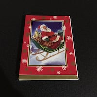 Ensemble de 10 cartes de Noël/ Set of 10 holiday cards in French Montreal, H3B 4V3