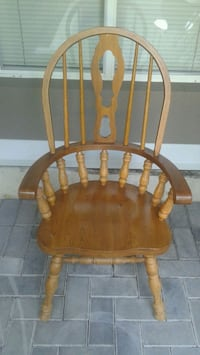 Brown Solid Wooden Chair Coquitlam, V3B 7N4