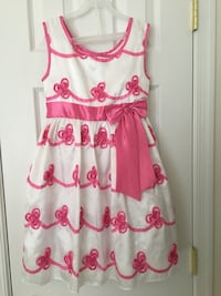 Girls Pink/White Dress Fredericksburg, 22405