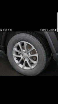 Jeep Grand Cherokee Rims and Tires 265x60rx18