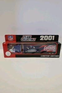 Die cast collectable. NFL sanctioned