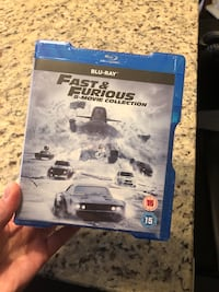 Fast & Furious 8 movie collection - Blu-Ray