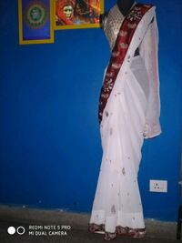 saree with attached blouse piece and fall attached Dehradun, 248005