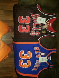 blue and red Chicago Bulls 23 jersey New Orleans, 70127
