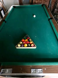 green and brown billiard table Mount Airy, 21771