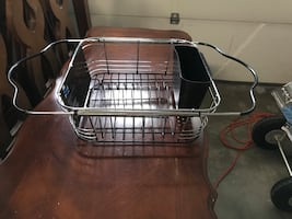 New stainless steel dish rack