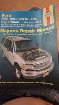 Haynes Repair Manual F150, F250 and Expidention  Houston, 77054