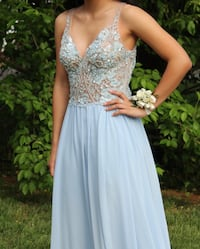 Light blue prom dress Upper Marlboro, 20772