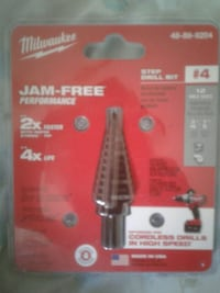 Milwaukee Jam free step drill bit pack Chesapeake, 23324