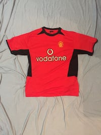 Manchester United 1990's style jersey