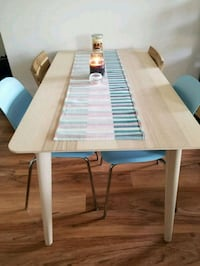 Dining table with 4 chairs 4 km
