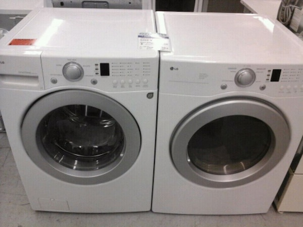 Front Loader Washer Dryer Set Up