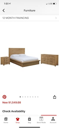Queen size Bedroom furniture  Waxhaw, 28173