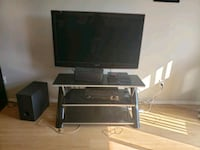 TV and stand  Red Deer