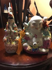 Price is firm of $180 two beautiful vintage asian vintage Buddhas. Melville, 11747