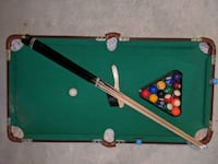 Mini pool table Whitchurch-Stouffville, L4A 4K1