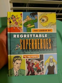 Regrettable Superheros & Supervillains books sold as set or individual