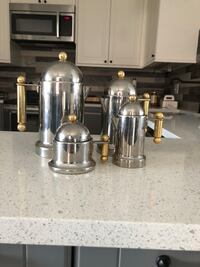 two stainless steel Turkish teapots Barrie, L4N 9R4