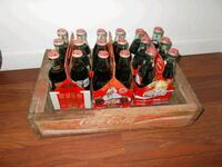 Vintage Coca-Cola Wooden Crate and Bottles Victorville, 92392