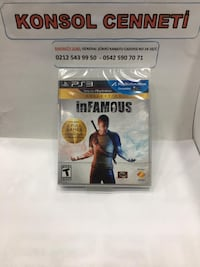 INFAMOUS COLLECTION  - PS3 - TAKAS - OYUN - KONSOL CENNETİ - BAKIRKÖY Kartaltepe