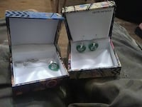 Sterling silver necklace and earrings $20 for both